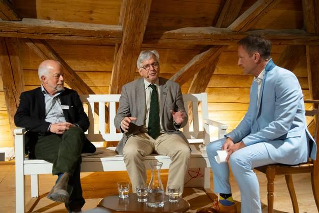 Im Schloss Wildegg wurde die Vernissage der Ausstellung «Jagd & Wild» gefeiert.
