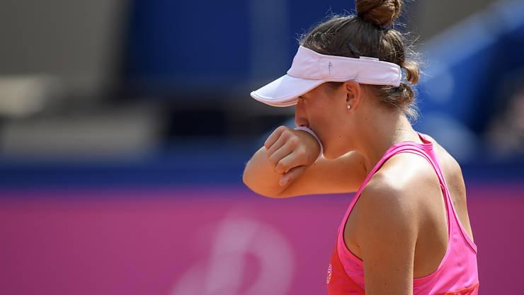 Leonie Küng gewann in ihrem ersten WTA-Final bloss fünf Games