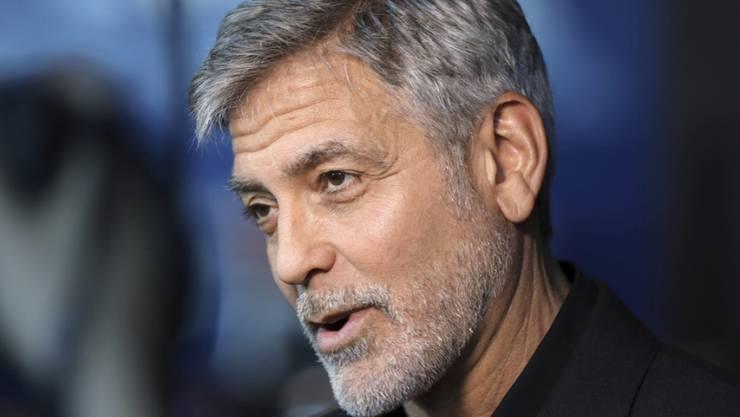 Zu gefährlich: US-Schauspieler George Clooney fährt seit seinem Unfall auf Sardinien nicht mehr Töff. (Archivbild)