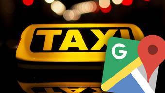 Auch im Taxi-Gewerbe gibt es schwarze Schafe. Google Maps will ihnen nun ein Strich durch die Rechnung machen.