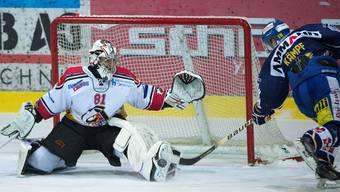Playoff-Eishockey Langenthal gegen Basel