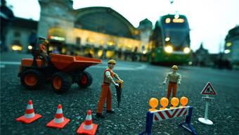 Zeit verspielt: Auf dem Centralbahnplatz soll bald gebaut werden – allerdings fehlt noch die Bewilligung dazu. Juri Junkov