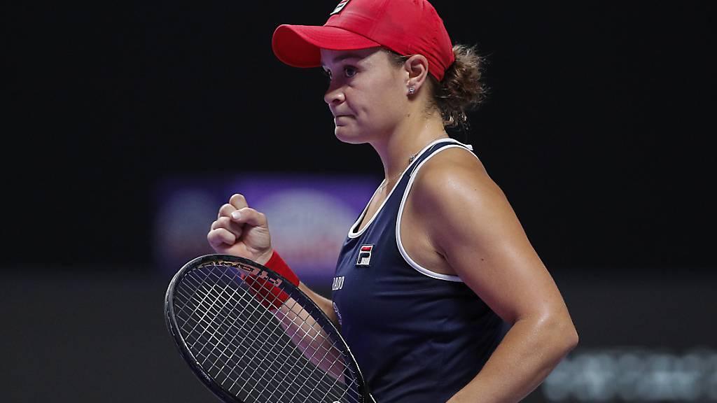 Barty gewinnt als erste Australierin seit 1976 die WTA Finals