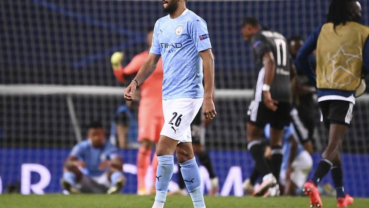 Riyad Mahrez ist einer von zwei positiv getesteten Spieler bei Manchester City