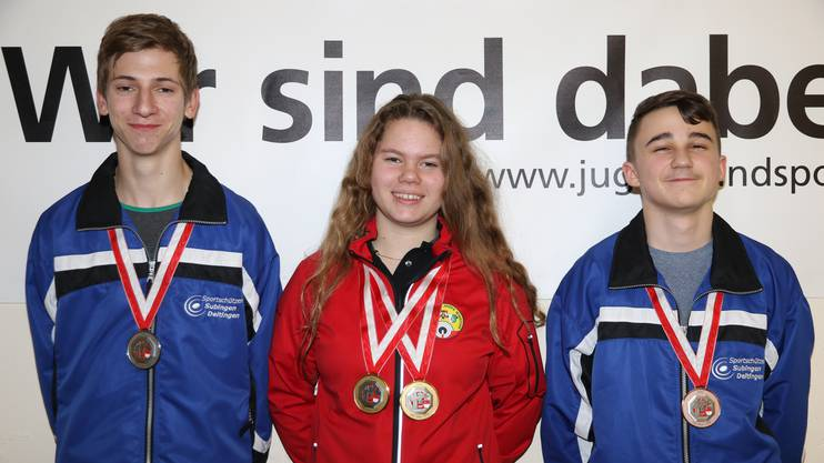 Tina Kaufmann gewinnt die Kategorie U17.