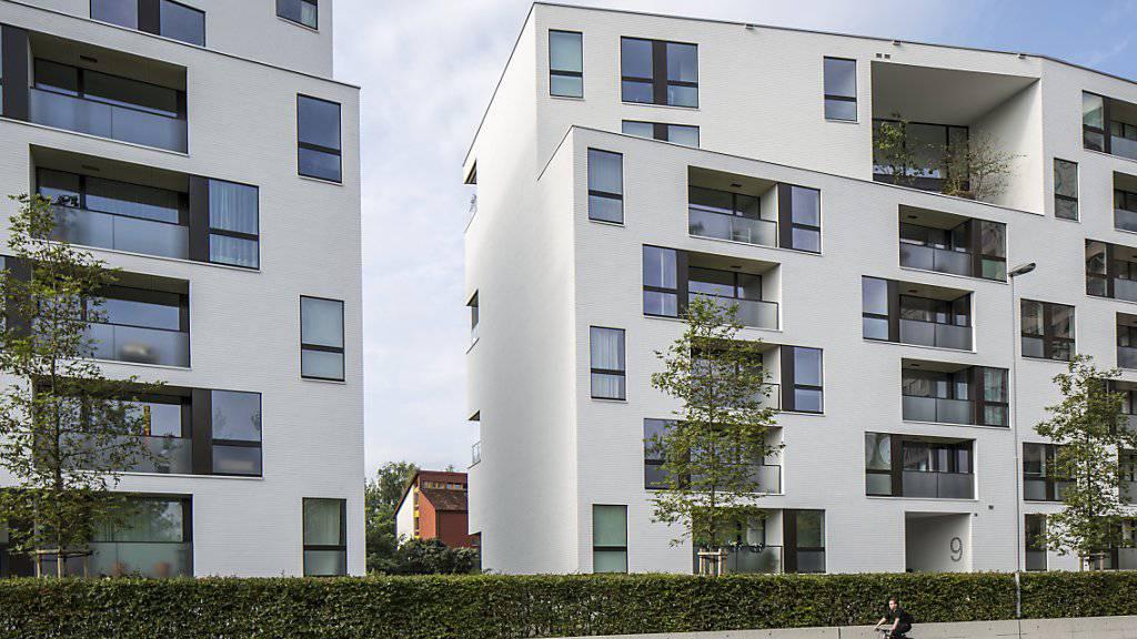 In einer Studie rechnet die Credit Suisse auf dem Schweizer Wohnungsmarkt im laufenden Jahr mit einer Zunahme der Leerstände.(Archivbild)