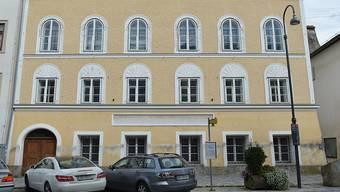 Hitlers Geburtshaus in Braunau (Archiv)