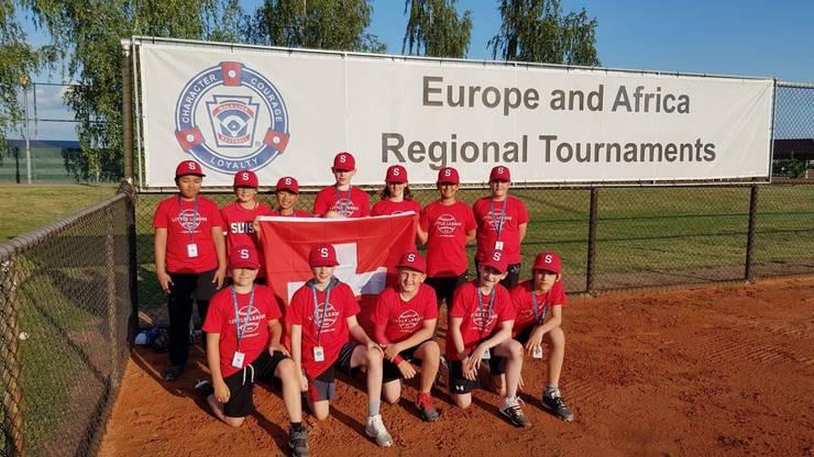 Schweizer Little League Team 2019