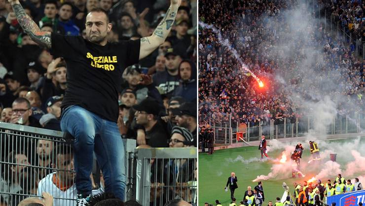 Den Staat gedemütigt: Gennaro Di Tommaso bestimmt, ob der Cupfinal in Rom angepfiffen wird. Keystone