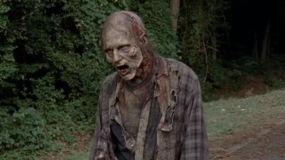 Eine SMS, die vor Zombies warnt