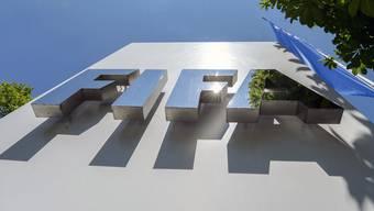 Fifa Logo am Zücher Hauptsitz
