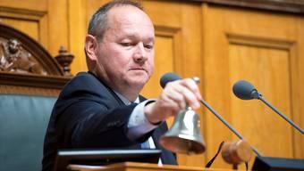 Mit der Entschuldigung Frickers war die Sache für Nationalratspräsident Jürg Stahl erledigt.ANTHONY ANEX/Keystone