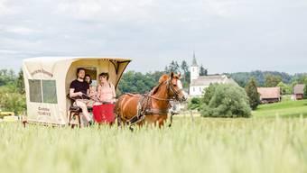 Ferien im Planwagen im Jura