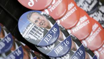 Nach seinem Vater George Bush und seinem Bruder George W. Bush will nun auch Jeb Bush ins Weisse Haus