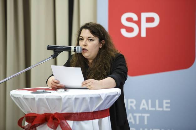 Juso-Präsidentin Tamara Funiciello