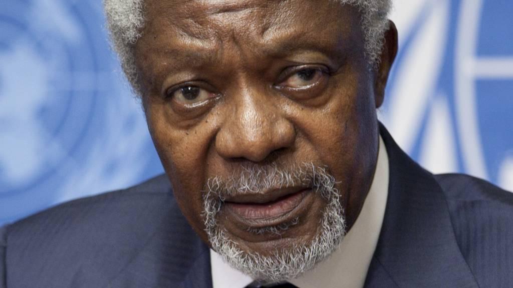 Kofi Annan ist tot