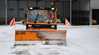 Die Einsatzfahrzeuge für den Winterdienst wurden während des Jahres laufend instand gesetzt. (ske)