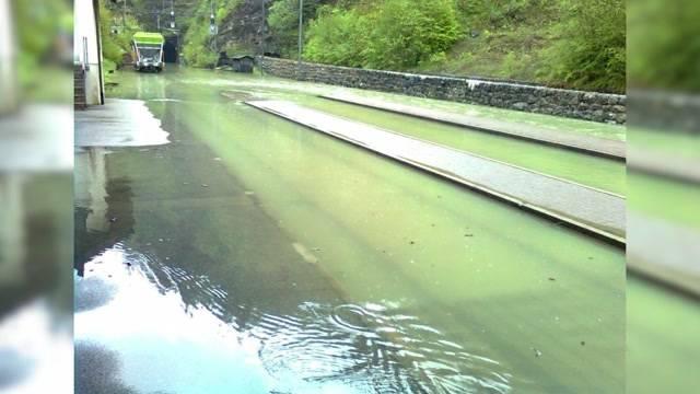 Überschwemmungen in Solothurn