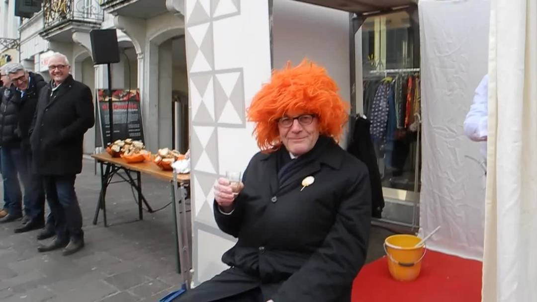 Kurt Fluri mit neuer Frisur: Eindrücke der Hilari in Solothurn