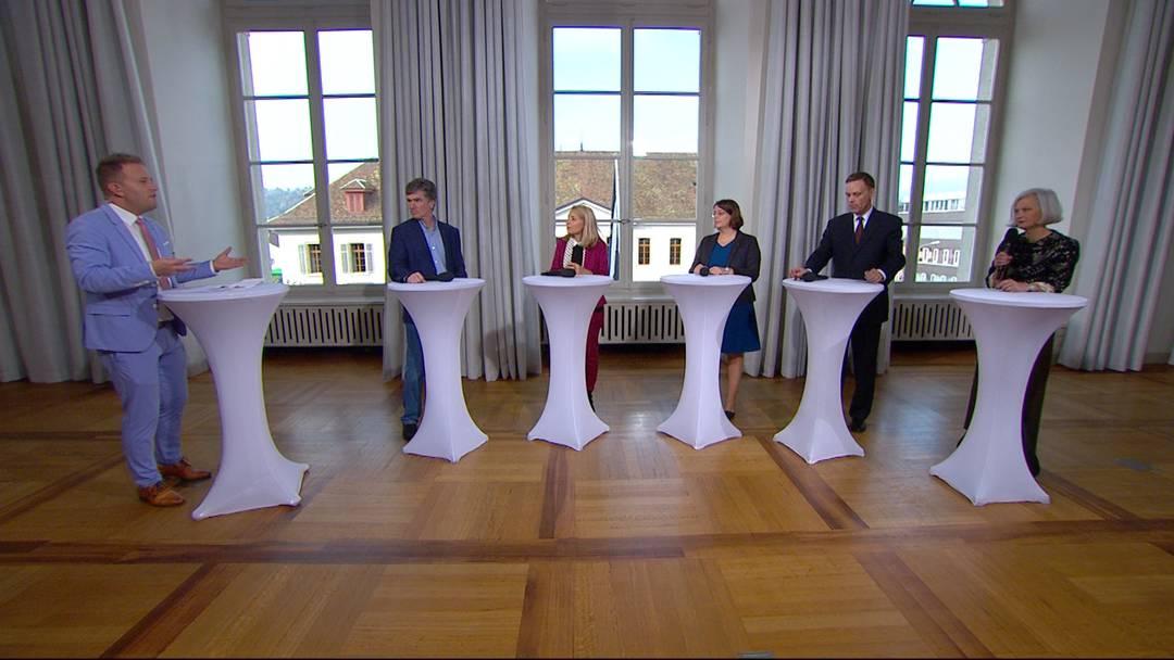 Aargauer Regierungsrats-Talk