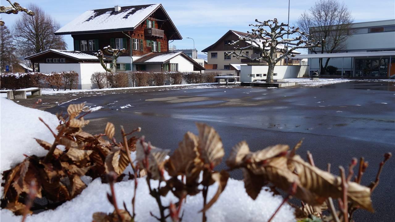 Das Notterhaus soll einem Ersatzbau weichen, denn die Schule Merenschwand braucht mehr Platz. Eddy Schambron