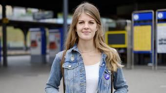 Den Frauenstreik-Button trägt Ronja Jansen noch immer an der Jacke.