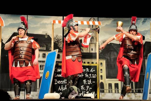 Premiere des Rotstab Cabarets Liestal