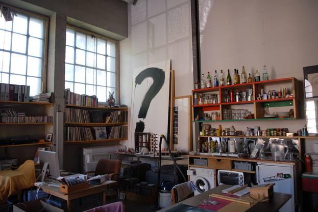 Blick in ein Atelier der AZB.