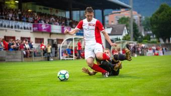 FC Solothurn - FC Muensingen, Aufstiegsspiel Promotion-League, 06.06.2018