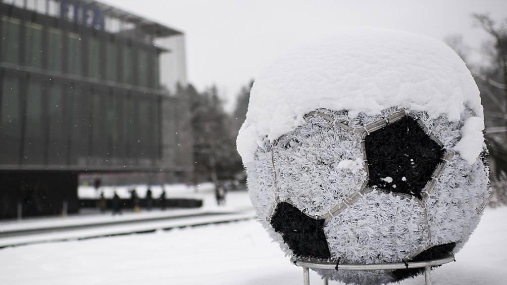 In St. Gallen und Luzern ist aufgrund von ausgiebigen Schneefällen nicht an eine Super-League-Partie zu denken