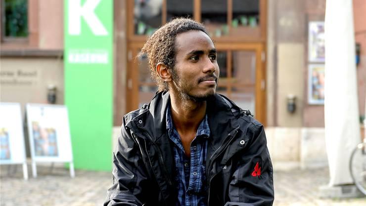 Ahmed Abdurahim aus Eritrea nutzt das Gratisangebot der Kaserne Basel häufig.