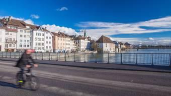 Wengibrücke mit Blick auf die Solothurner Altstadt