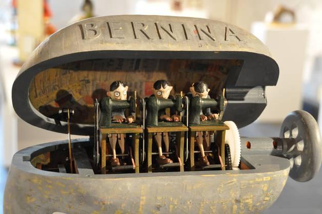 Bernina-Nähmaschine einmal anders.