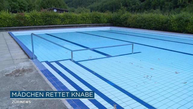 12-Jährige rettet 6-Jährigen aus Schwimmbad