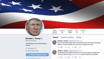 280 statt 140 Zeichen: Vielleicht erhält auch US-Präsident Donald Trump schon bald mehr Platz für einzelne Twitternachrichten. (Screenshot/Archiv)
