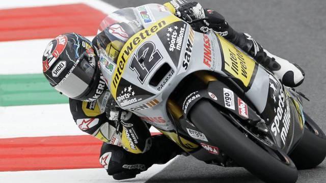 Lüthi am GP in Italien.