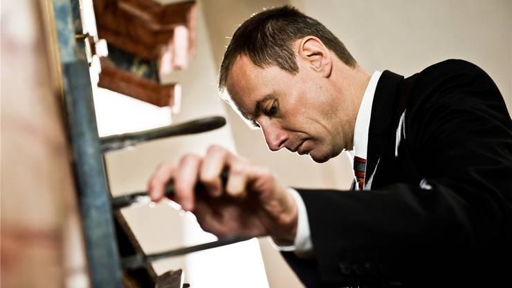Der Organist Johannes Strobl spielt morgen Sonntag in der Pfarrkirche Muri.