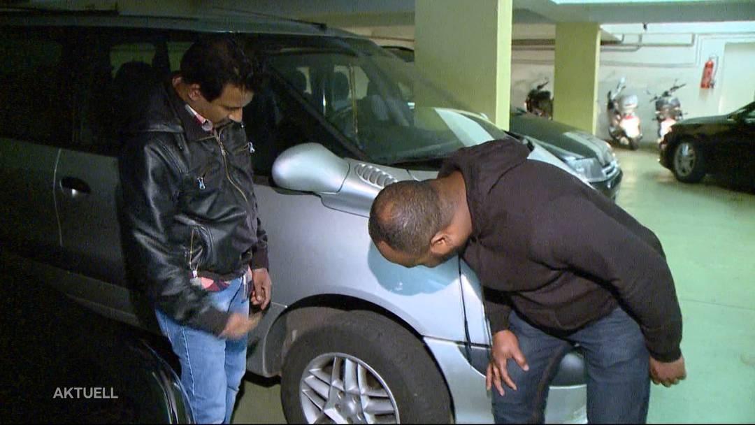 Gezielt Autopneus von Ausländern zerstochen?