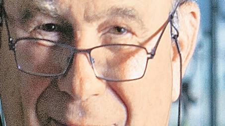 Walter Kielholz am Hauptsitz der Swiss Re in Zürich: «Wenn wir nicht allzugrosse Fehler machen, dannist die Lage für den Finanzplatz nicht so schlecht».