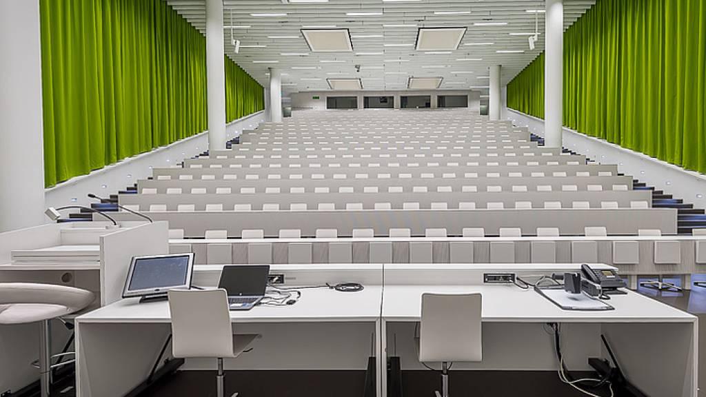 Ab Mittwoch sind die Hörsäle der Uni wieder leer.