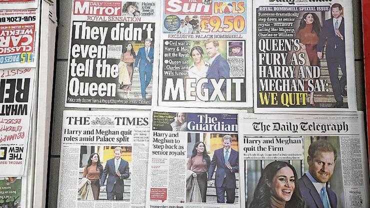 Nur ein Thema: Blick in die britische Presse von Freitag.