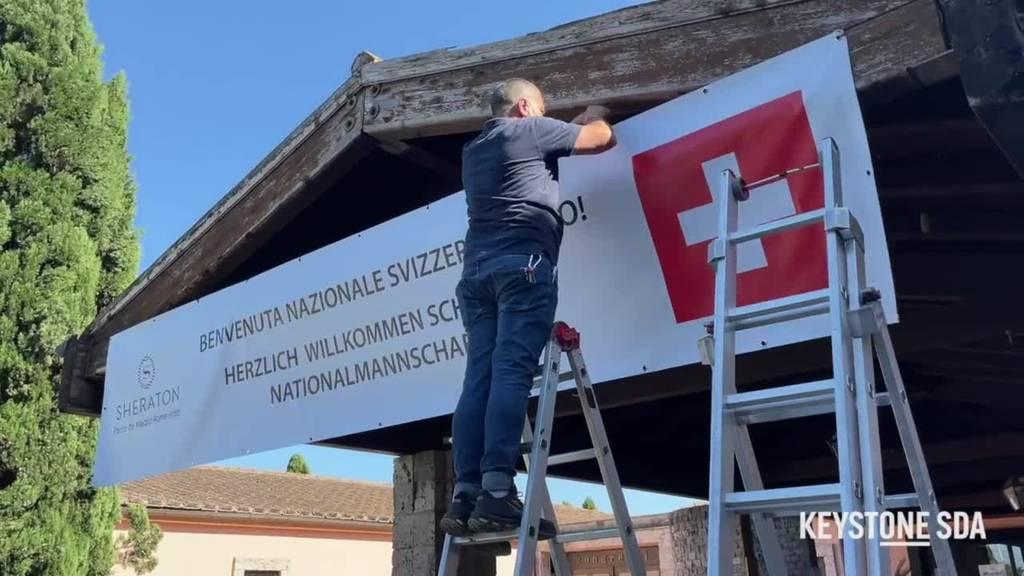 So logiert die Schweizer Fussball-Nati in Rom