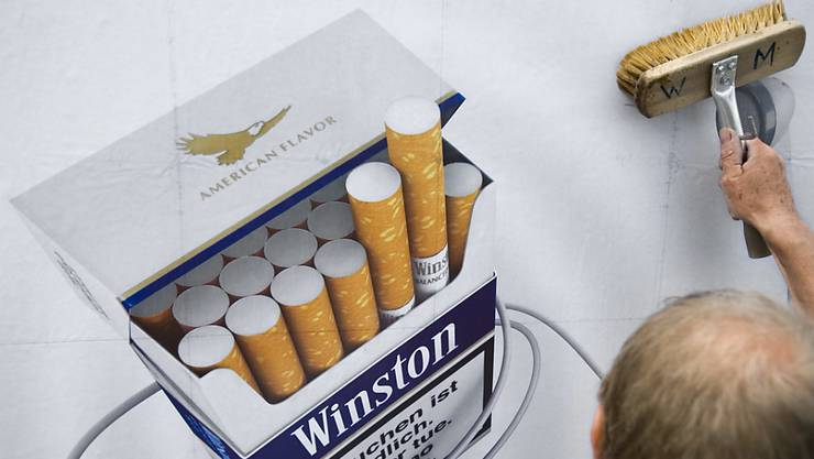 Tabakwerbung soll in der Schweiz weiterhin erlaubt sein: Ein Verbot lehnt das Parlament ab. (Symbolbild)