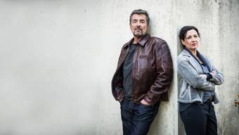 Treten genauso einvernehmlich ab, wie sie angetreten sind: die Luzerner «Tatort»-Darsteller Stefan Gubser und Delia Mayer.