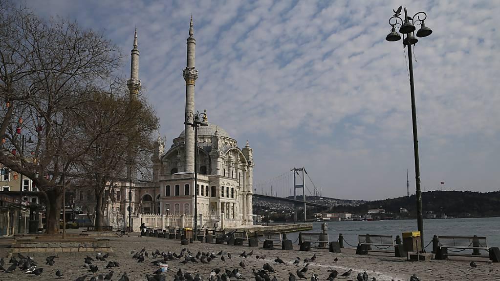 Die Inflation in der Türkei steigt immer weiter: Blick auf den Bosporus. (Archivbild)