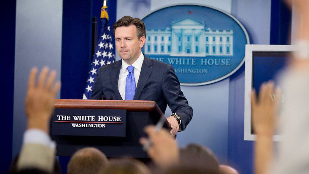 Der Sprecher von US-Präsident Obama, Josh Earnest, kritisierte am Dienstag einmal mehr Russlands Unterstützung für den syrischen Machthaber Al-Assad (Archivbild).