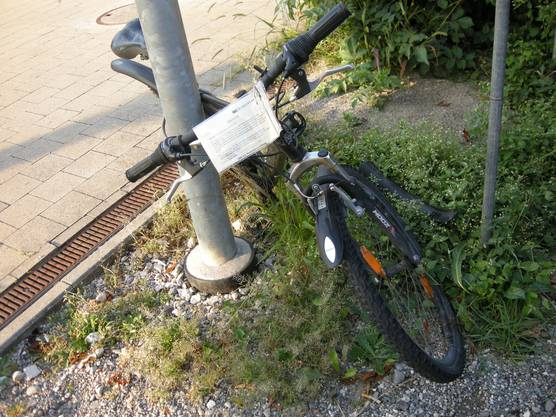 herrenloses Fahrrad oder doch gestohlen
