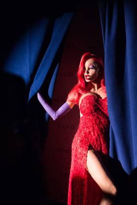 Für einmal Jessica Rabbit: Heidi Klum an der Halloween-Party am Samstagabend in New York.