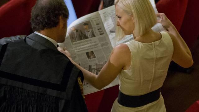 "Domnica Cemortan, Nebenklägerin im ""Costa Concordia""-Prozess"