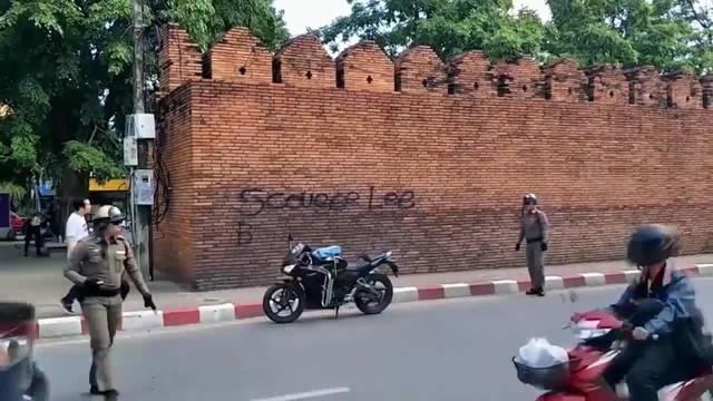 AP: Sprayer drohen zehn Jahre Haft in Thailand